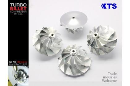 KTS Turbobillet X - Billet Compressor Wheel   MFS3728C - GT3788VA (63.40/88.25) 11+0 Forward