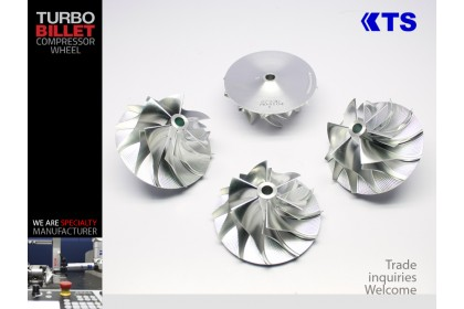 KTS Turbobillet X - Billet Compressor Wheel | MFS3733C - GT37 (53.00/75.00) 6+6 Forward